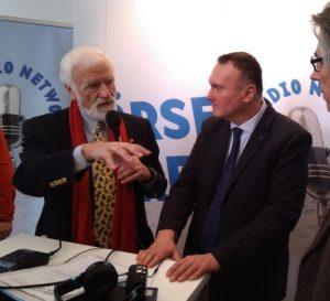 Heiko Thieme mit Peter Heinrich