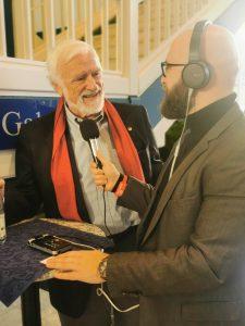 Heiko Thieme im Gespräch mit Sebastian Leben in Kulmbach, November 2019