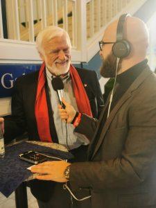 Sebastian Leben im Gespräch mit Heiko Thieme in Kulmbach 2019