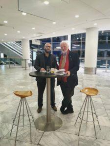 Heiko Thieme und Sebastian Leben auf der Euro Finance Week 2019