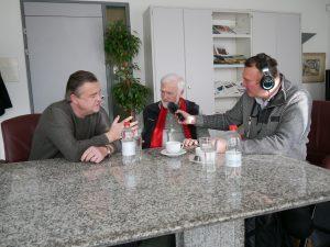 Mojmir Hlinka Heiko Thieme und Peter Heinrich